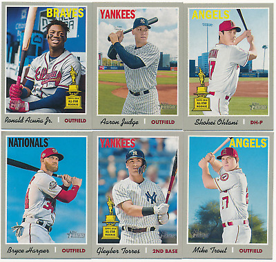 2019 Topps Heritage Short Print SP HIGH NUMBER YOU CHOOSE PICK YOURS #401-500