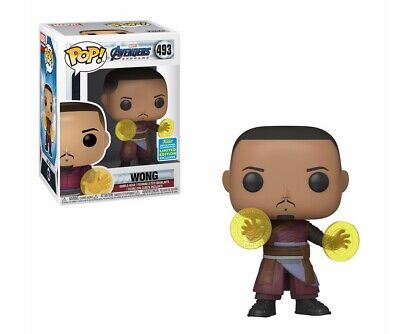 Funko POP! Wong Avengers Endgame - New in Box - SDCC Exclusive Doctor Strange