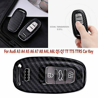 For Audi A3 A4 A5 A6 A7 A8 Q5 Q7 TT Car Button Remote Key Fob Case Cover Shell