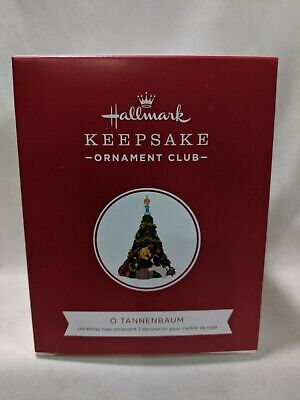2019 Hallmark Keepsake Ornament O Tannenbaum Kitten Puppy Christmas Tree KOCC