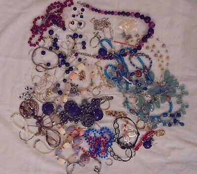 Junk Drawer Jewelry cleanout beads charms gems jewelry fixes