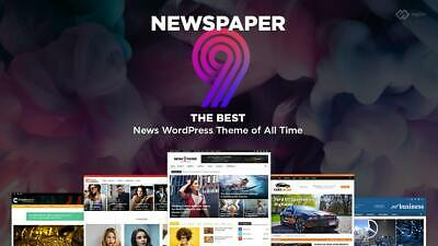 Newspaper 9.8 ⭐ Wordpress Theme ⭐ All Plugins Included ⭐ Ultimate Version