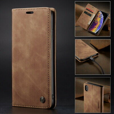 Case Cover For Samsung Galaxy A50 A70 S10 Plus Flip Leather Wallet Card Holder