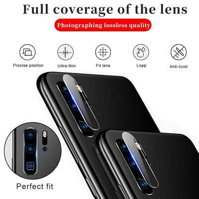 For Huawei P30 P20 Pro Mate 20 Lite Camera Full Cover Lens Protector Glass Film