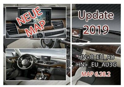 2019 AUDI MMI 3G HIGH HNav SAT NAV MAP UPDATE SD CARD A4 A5