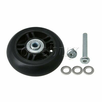 OD 70mm Luggage Suitcase Replacement Wheels Axles and Screws Repair Set