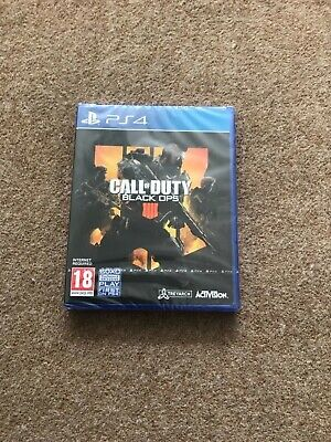 Call Of Duty Black Ops 4 Ps4 New