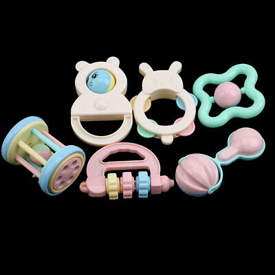 Baby Rattles Teether Toys Baby Teether Newborn Musical Early Learning Toys Gift