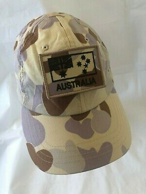 Army Australian Auscam DPDU Operator Cap and ANF subdued Patch