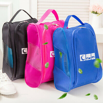 Portable Travel Shoes Storage Bag Waterproof Packing Box Container Useful FW