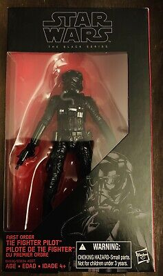 Star Wars The Force Awakens Black Series 6 Inch First Order TIE Fighter Pilot