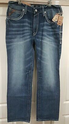 Ariat M4 Low Rise Boot Cut Jeans W34 L34 - Brand New