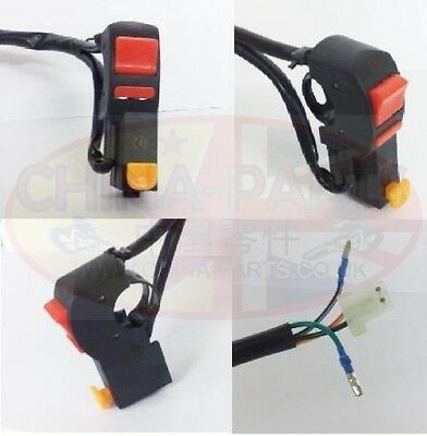 Right Handlebar Switch with Starter and Kill switch for Chinese GY125