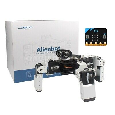 Finished Alienbot Programmable Robot Kit PC/APP Control RC Robot+Microbit Board