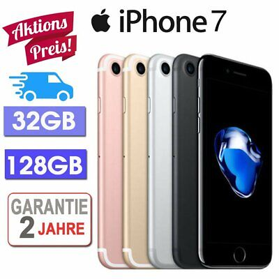☀️Apple Iphone 7 Smartphone Handy 32 Gb 128Gb Schwarz-Silber Roségold - Aktion