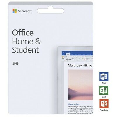 Microsoft Office Home and Student 2019 Lifetime (Windows Only) - Genuine Key!