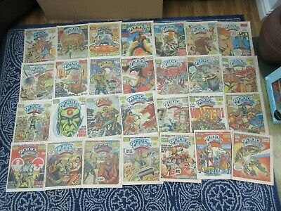 28 x 2000AD Comic 1984/85 Various Progs Between 350-404
