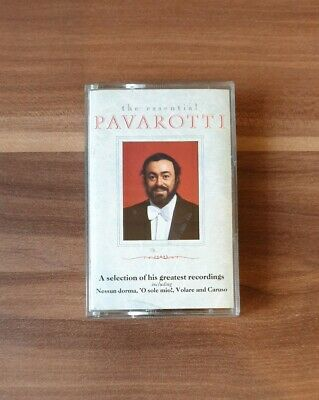 Luciano Pavarotti The Essential Pavarotti Cassette Tape album