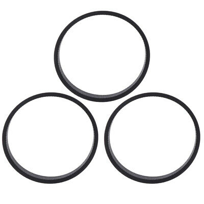 Cleaning Vacuum Belts 3pcs For Kirby All Series Cleaners Black Replacement