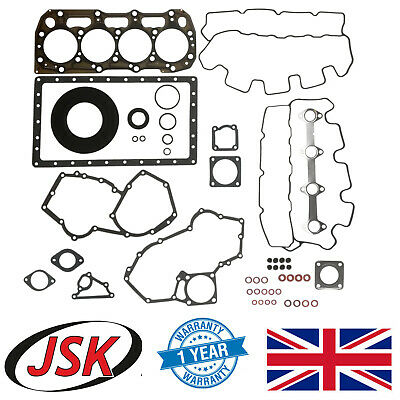 Full Engine Gasket Kit for Perkins 404 in JCB 1CX Midi CX 8040 8045 8050 515 520