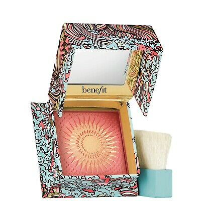 Benefit Galifornia dream Golden Pink Blusher with brush Blush 2.5g mini New