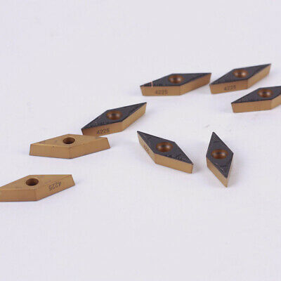 Inserts For Steel Accessories Parts Kit Professional 10pcs VBMT160404-PM