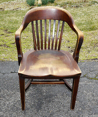 Antique Marble Lawyer Chair