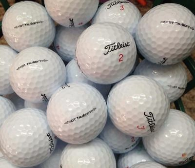 30 Titleist DT Trusoft Used Golf Balls  in Mint Condition 5AAAAA  FREE SHIPPING
