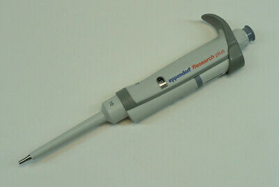 Eppendorf Research Plus 10 Pipet Pipette 0.5-10uL; clean and accurate
