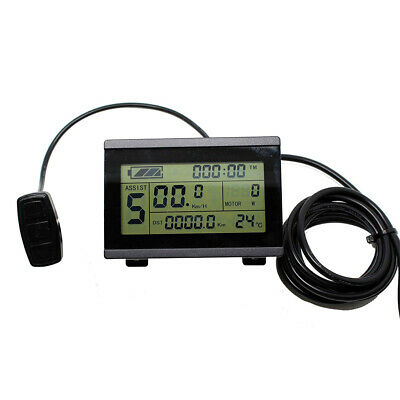36V/48V KT LCD3 Display Meter/Control Panel Ebike Electric Bicycle AU