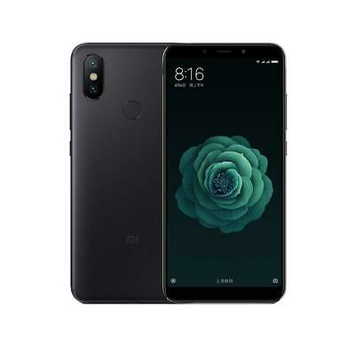 Global Version Xiaomi Mi A2 Android8.1 Octa Core 4G Phone w/4+64GB (Black) #BU