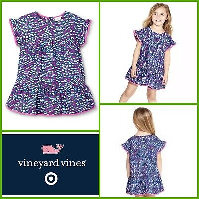 Girls 4T VINEYARD VINES for Target School Of Whales Limited Edition Dress