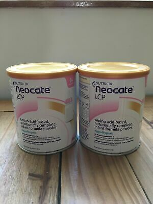 🔥🔥🔥 2  X 400G Tins Of Neocate Lcp Baby Milk Formula , Exp Date - 10/08/19 🔥