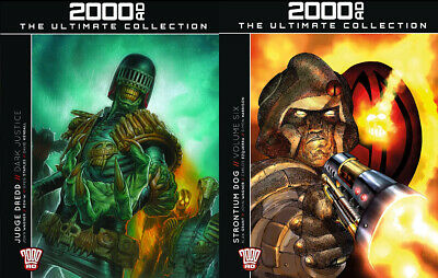 2000AD The Ultimate Collection Issue 51 & 52 Judge Dredd & Strontium Dog  *NEW*