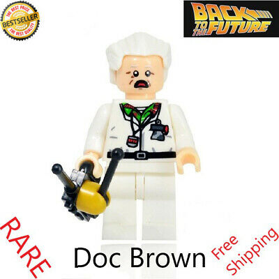 Back to the Future Mini Figures Building Blocks McFly Actors Movie Toys Children