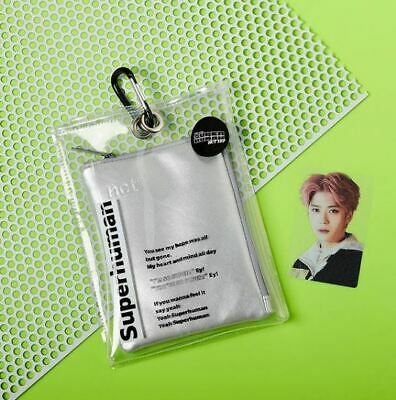 Nct 127 We Are Superhuman Smtown Official Goods Portrait Mini Pouch + Photocard