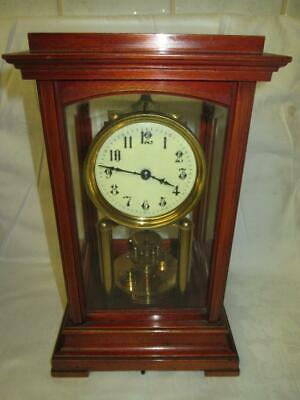 ~RARE~Gustav Becker Mahogany 4 Glass 400 Day Torsion Clock c1925 #1963949