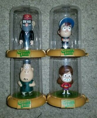 Gravity Falls Domez Mystery Figure Lot Mabel Dipper Grunkle Soos Disney XD Rare