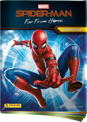 Panini Marvel Album Spider-Man Far From Home + 5 Bustine di Figurine