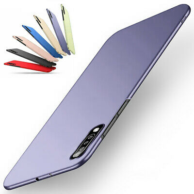 For Samsung Galaxy A70 A50 A40 A20E A10 Shockproof  Matte Hard Shell Case Cover