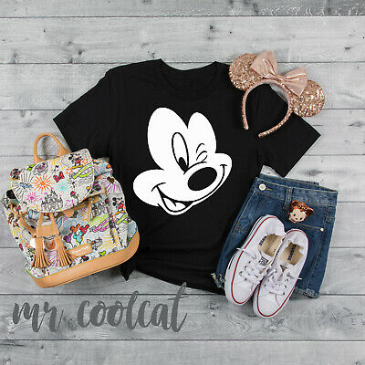 Mickey Mouse Face - Matching Family Friends T-Shirts WDW Minnie Mouse Holiday