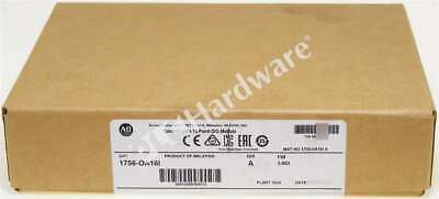 New Sealed Allen Bradley 1756-OA16I /A 2018 ControlLogix Isolated Output 16P Qty