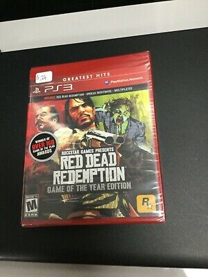 Playstation 3 Red Dead Redemption Game Of The Year Edition