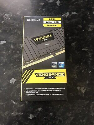 Corsair Vengeance Memory Kit Desktop LPX 8GB (1 x 8GB) DDR4 DRAM 2400MHz