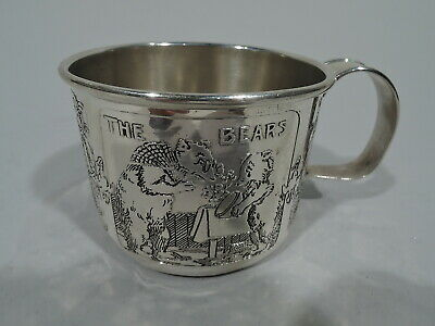 Kerr Mug - 5176/2 - Antique Christening Baby Cup - American Sterling Silver