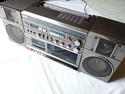 AIWA STEREO 100 Carry Component System Boombox (Model CA-100E, Vintage mid-80s)
