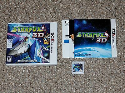 Star Fox 64 3D Nintendo 3DS Complete