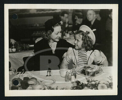 1937 Original 20th Fox 4x5 Keybook Photo - Shirley Temple & Ballet Russe Visitor