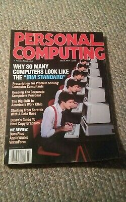 000 Vintage Personal Computing Magazine March 1984 Hayden IBM Standard