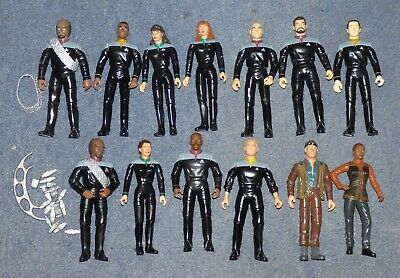 Star Trek First Contact and Deep Space Nine playmates figures